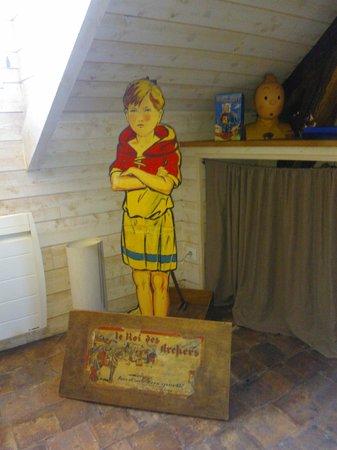Appartements d'Hôtes Le Jeu et La Gourmandise : jeu de flechettes