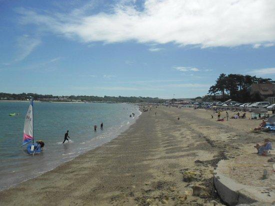 St Helens Holiday Park: St Helen's beach