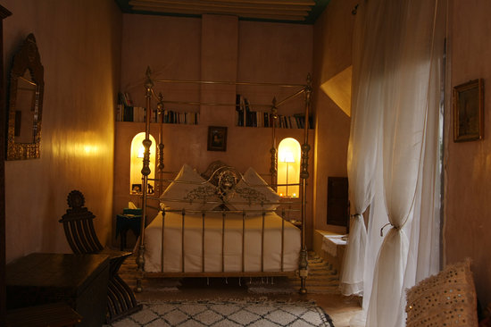 Riad Samsara : Jacaranda room .... very romantic