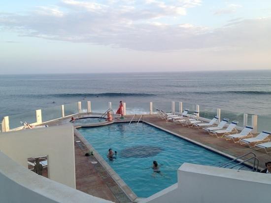 Pool View Picture Of Club Marena Luxury Oceanfront Condos Rosarito Tripadvisor