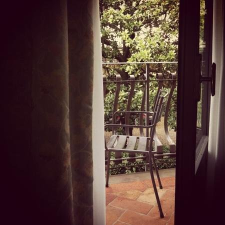Hotel Monna Lisa: vista dalla finestra