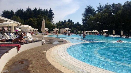 Valamar Rubin Hotel: Pool  view