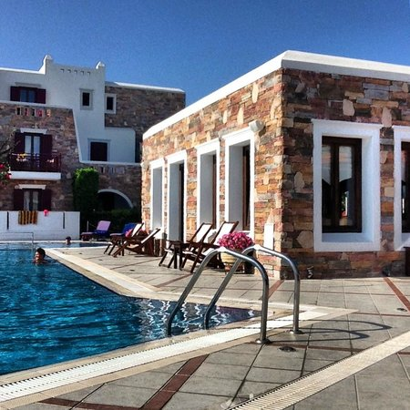 Naxos Resort Beach Hotel: ESTERNO PISCINA