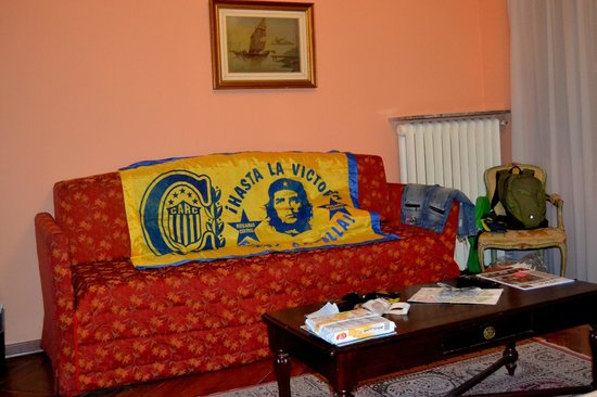 Hotel Malibran : amplio sofá