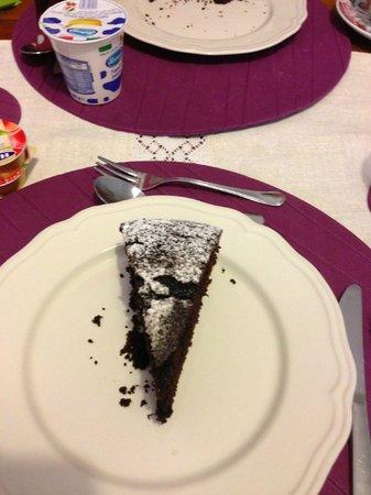Afra Bed & Breakfast: Una delle famose torte mangiate a Colazione