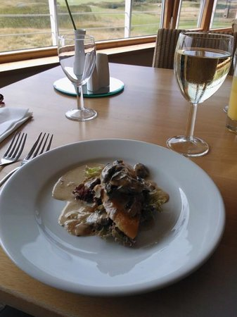 Machynys Bar and Brasserie: Mushroom fricasse
