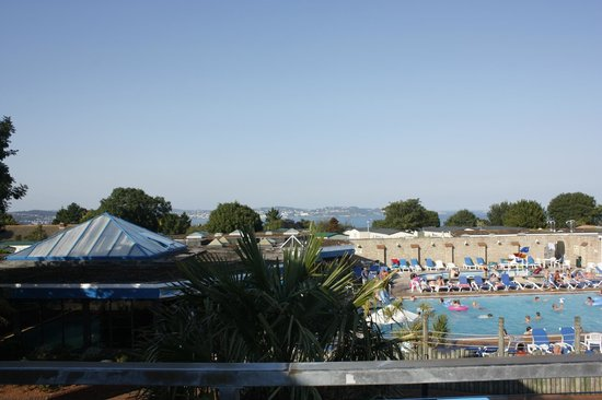 Beverley Holidays: View from upper deck bar seating area
