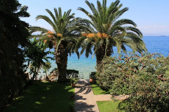 Hotel Theoxenia : Κήπος