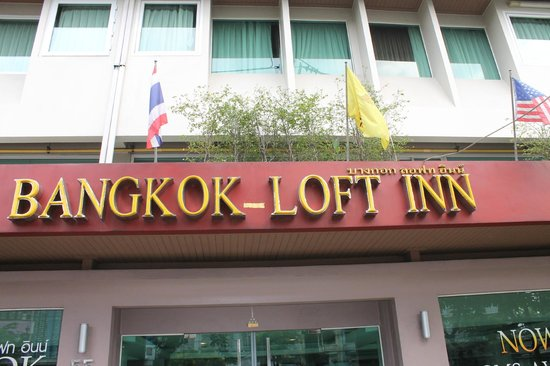 Bangkok Loft Inn : voorgevel hotel