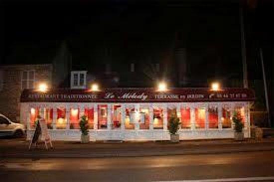 Restaurant Le Melody: vue de la route