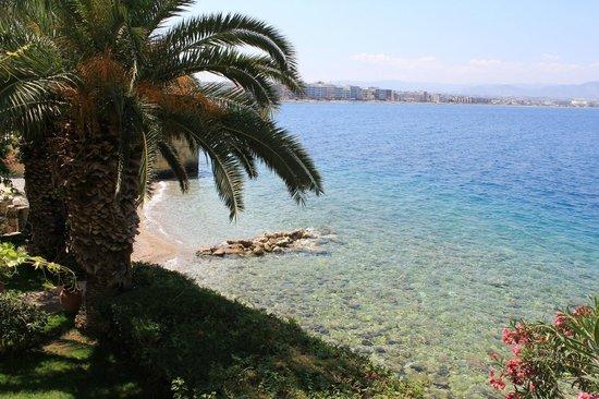 Hotel Theoxenia: Παραλία