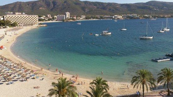 Hotel Seramar Comodoro Playa: Vue depuis notre chambre ( chambre 601)