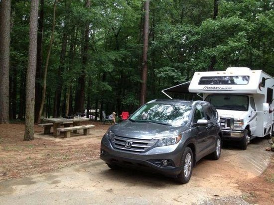 Joe Wheeler State Park: Our campsite