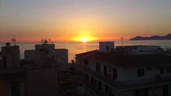 Hotel THB Gran Playa: 6 de la mañana, desde la habitación gran playa