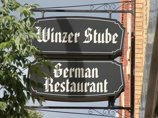Winzer Stube: The Sign