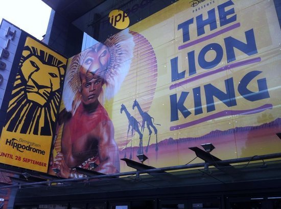 The Lion King At Birmingham Hippodrome