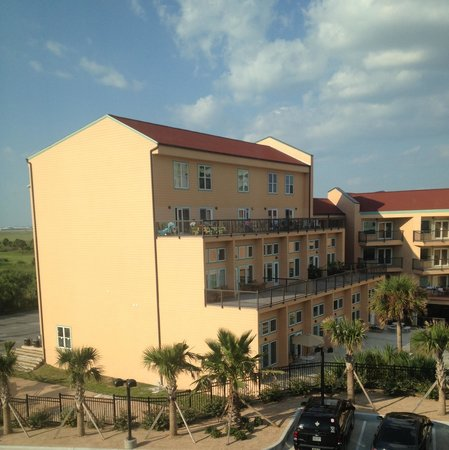 "TownePlace Suites by Marriott Galveston Island: The ""view"""