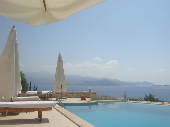 Lycia Apart Otel: vue de la piscine