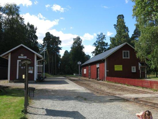 Varnamo, Szwecja: Station Ohs Bruk