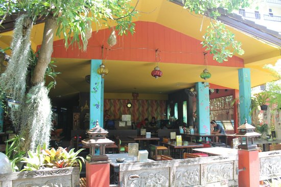Chiang Mai Thai House: ruimte om te  eten / drinken