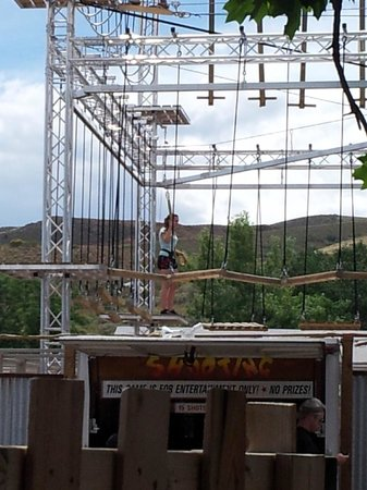 Heritage Square Family Entertainment Village: Rocky Mountain Rope Course