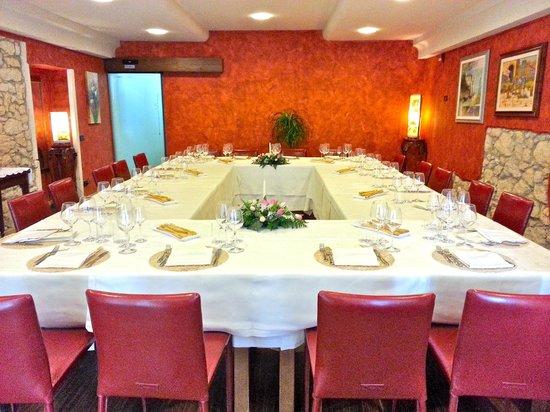 Trattoria Isetta: Saletta ristorante