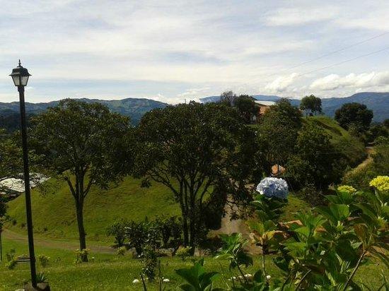 Colinas Altavista Mountain Resort: Zonas verdes