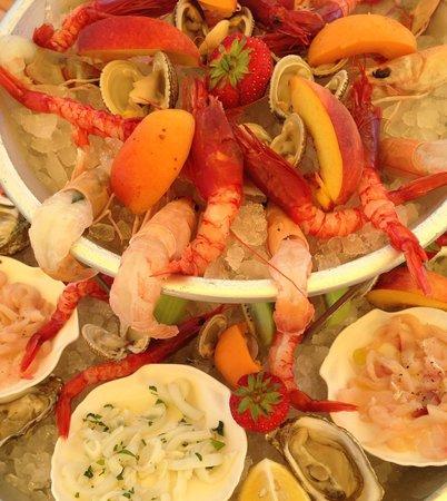 C'era una Volta: Seafood plate