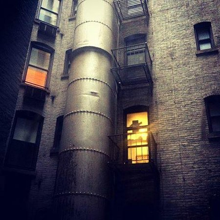 "City Club Hotel: The ""Manhattan-view"" from my room..."