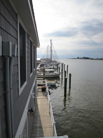 The Inn at Osprey Point: View from the private deck