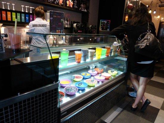 Bubbleology: Bar counter