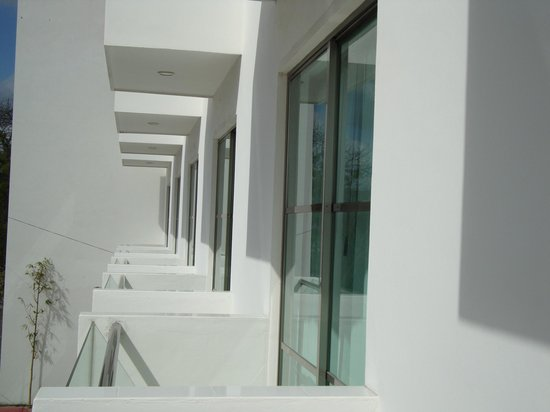 Hotel Plaza Playa : the balcony