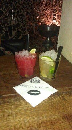 Rio Grande Restaurant, Night Bar, Cafe: Delicious caipirinhas