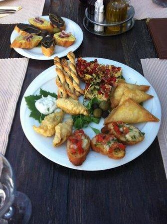 Brac Island, Croatia: verschiedene apetizer