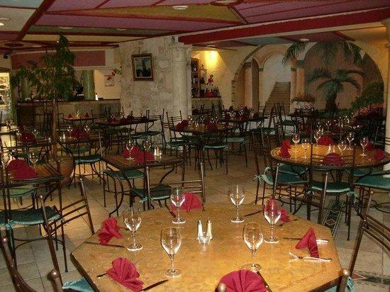 Restaurant l'Oppidum : la salle de l'oppidum