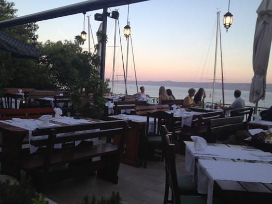Restaurant Santo: terrazza