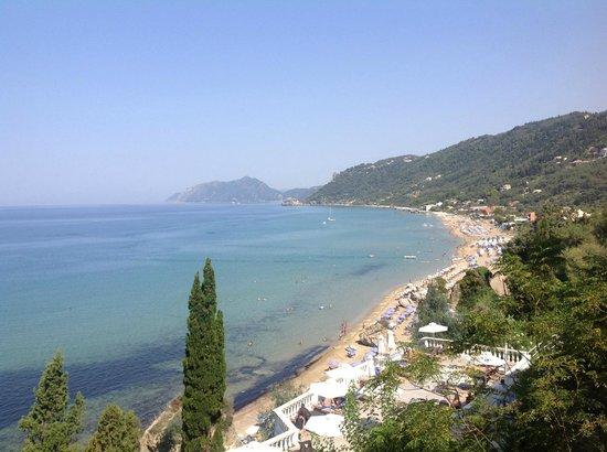 Mayor La Grotta Verde Grand Resort: View from the room - the beach