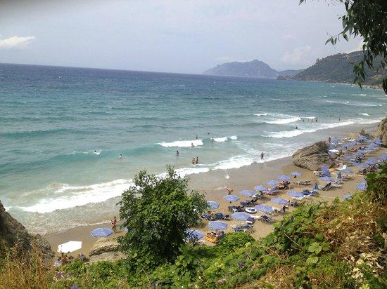 Mayor La Grotta Verde Grand Resort: The beach - view from the room
