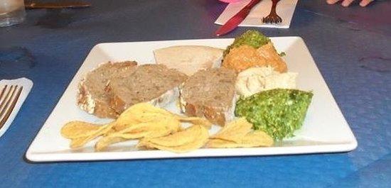 Restaurante Vegetariano: Mixed pate's