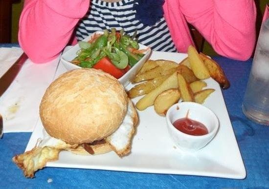 Restaurante Vegetariano: Veggie burger