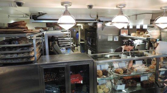 Levain Bakery: Blick in die Backstube