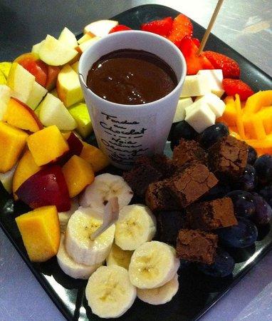 Tidsmæssigt Chokolade fondue - Billede af Cafe Aas, Holstebro - TripAdvisor VF-72