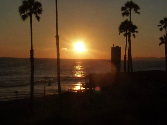 ดานาพอยต์, แคลิฟอร์เนีย: Sunset at San Clemente Pier