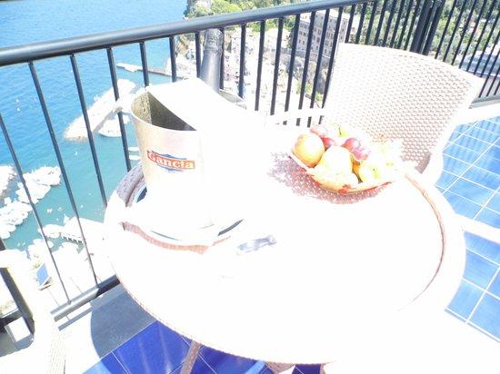 Hotel Bristol: Our Balcony