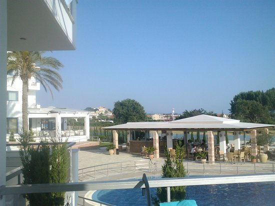 Ionian Theoxenia Hotel: View from our balcony!