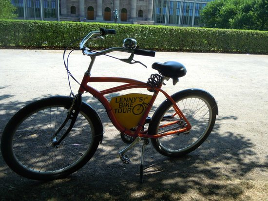 Discover Munich with Lenny's Bike Tour: Katie's bike