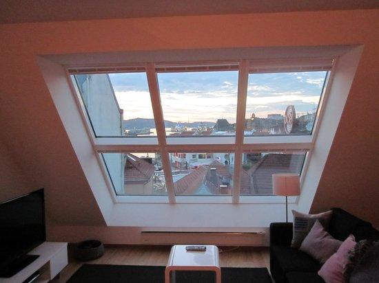 Bryggen Panorama Suites: Het uitzicht overdag