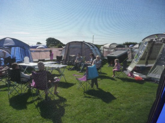 Kennexstone Camping and Touring Park: our set up at Kennexstone