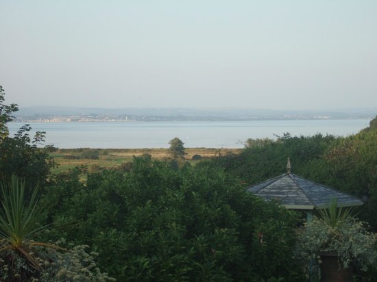 Welsh Welcome: View from the bedroom in Honeypot