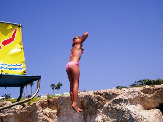 Yellow Submarine Boat Trip: Jumping!